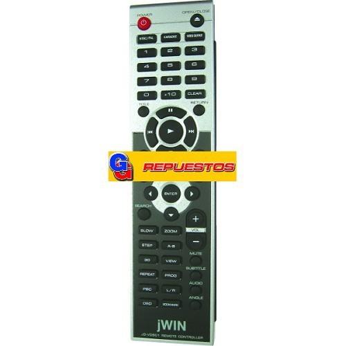 CONTROL REMOTO DVD JWIN  (2763)