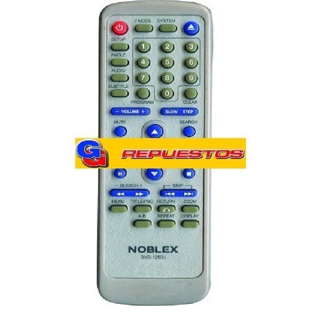 CONTROL REMOTO DVD NOBLEX PHILCO SANYO (2807)