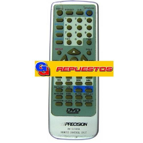 CONTROL REMOTO DVD PRECISION (2890)