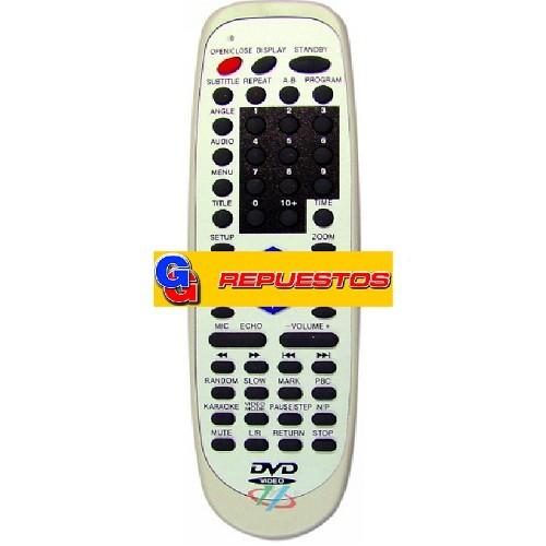CONTROL REMOTO DVD AMSTAR  (2950)