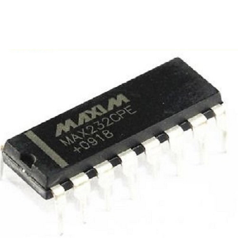 MAX232CPE DIP-16 CIRCUITO INTEGRADO DRIVER PARA CONVERSION TTL A EIA-RS232 18ma/5V