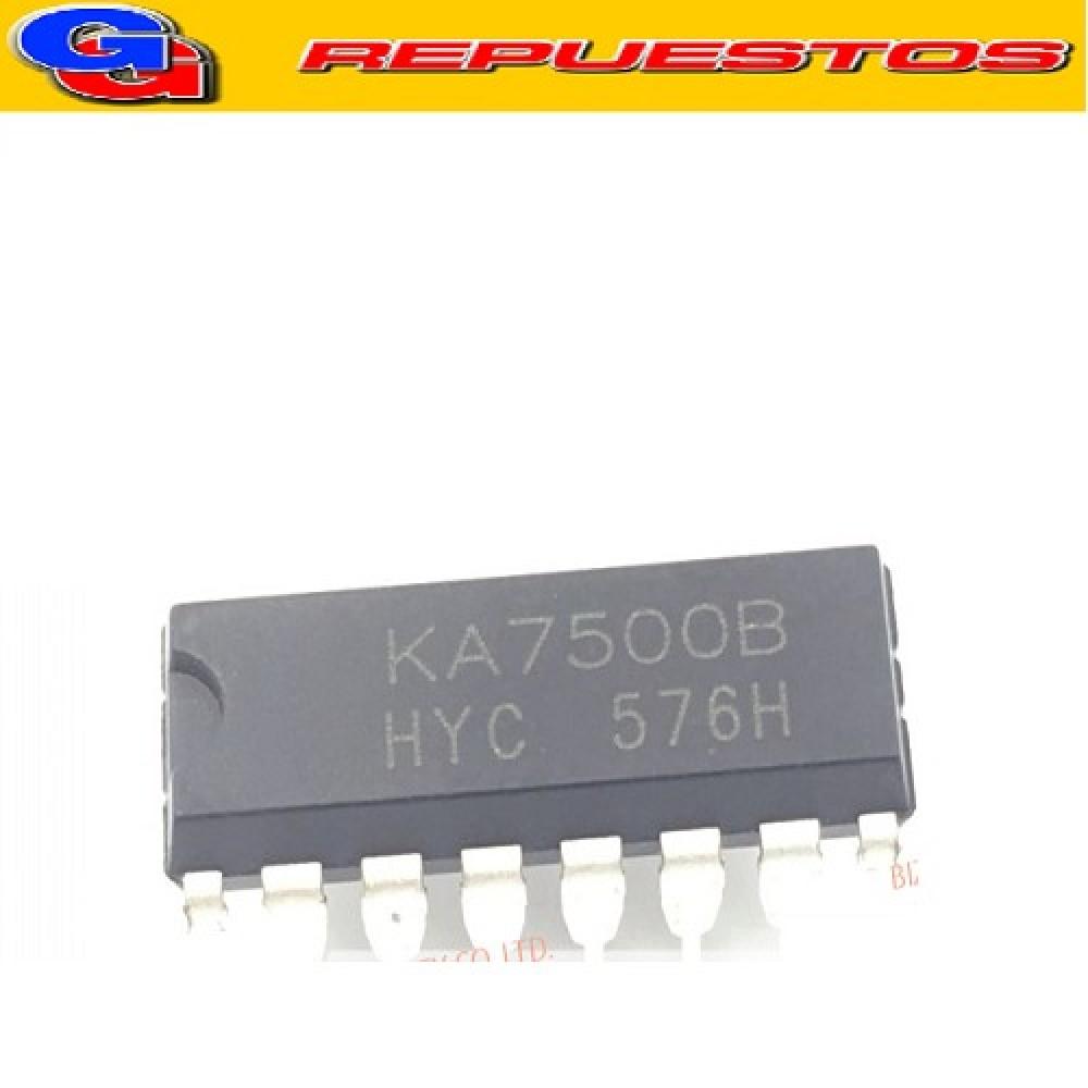 KA7500B CIRCUITO INTEGRADO DIP-16 DE CONTROL DE MODULACION DE ANCHO DE PULSO DE FUENTE SWITCHING 5V / 200MA