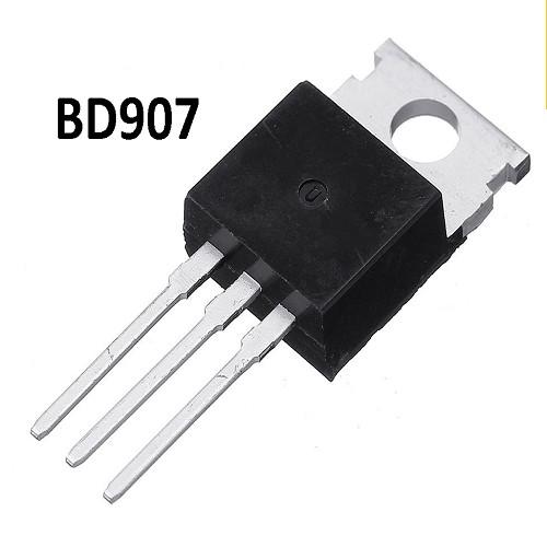 BD907 TRANSISTOR NPN 60V / 15A / 90W (COMPLEMENTARIO DE BD908 PNP)