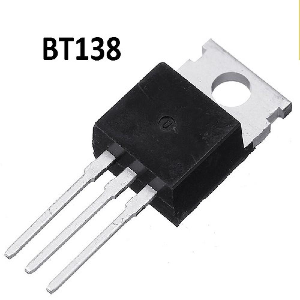 BT138-500 TRIACS 500V/12A/5W