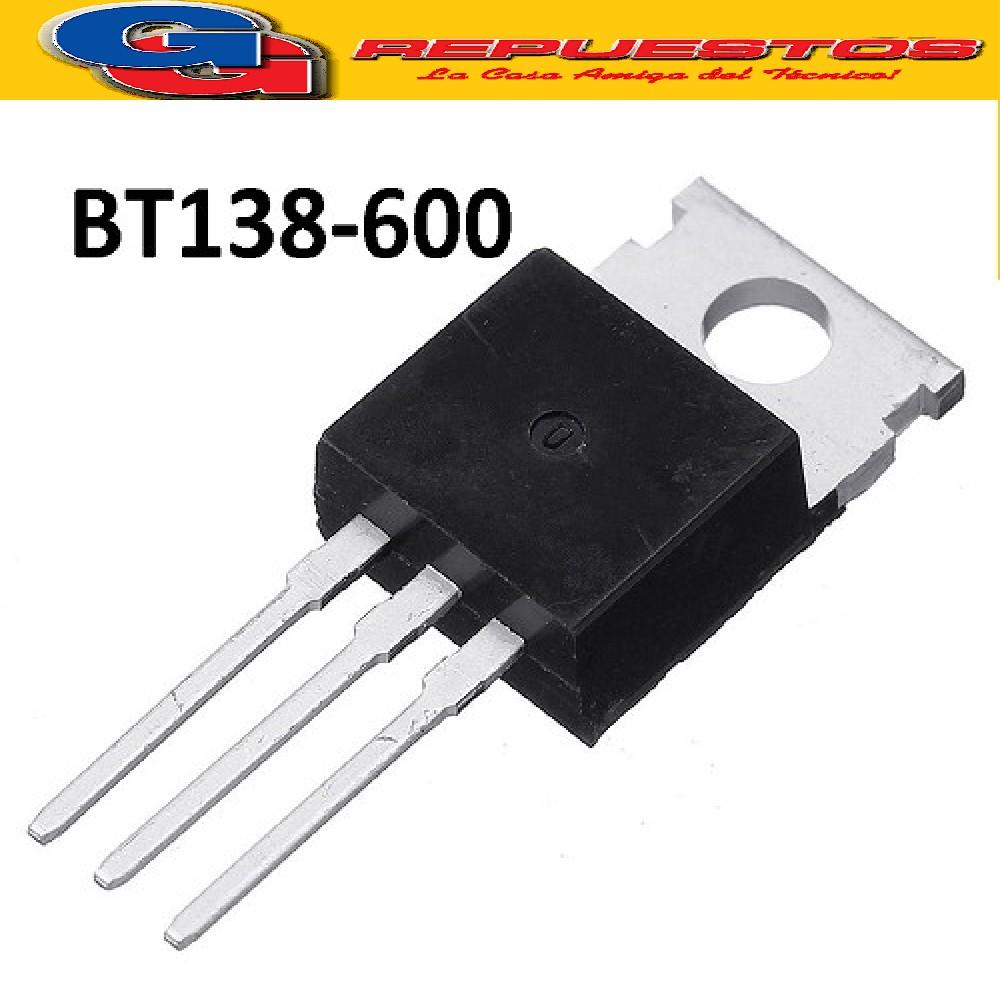 BT138-600 TRIACS 600V/12A/5W