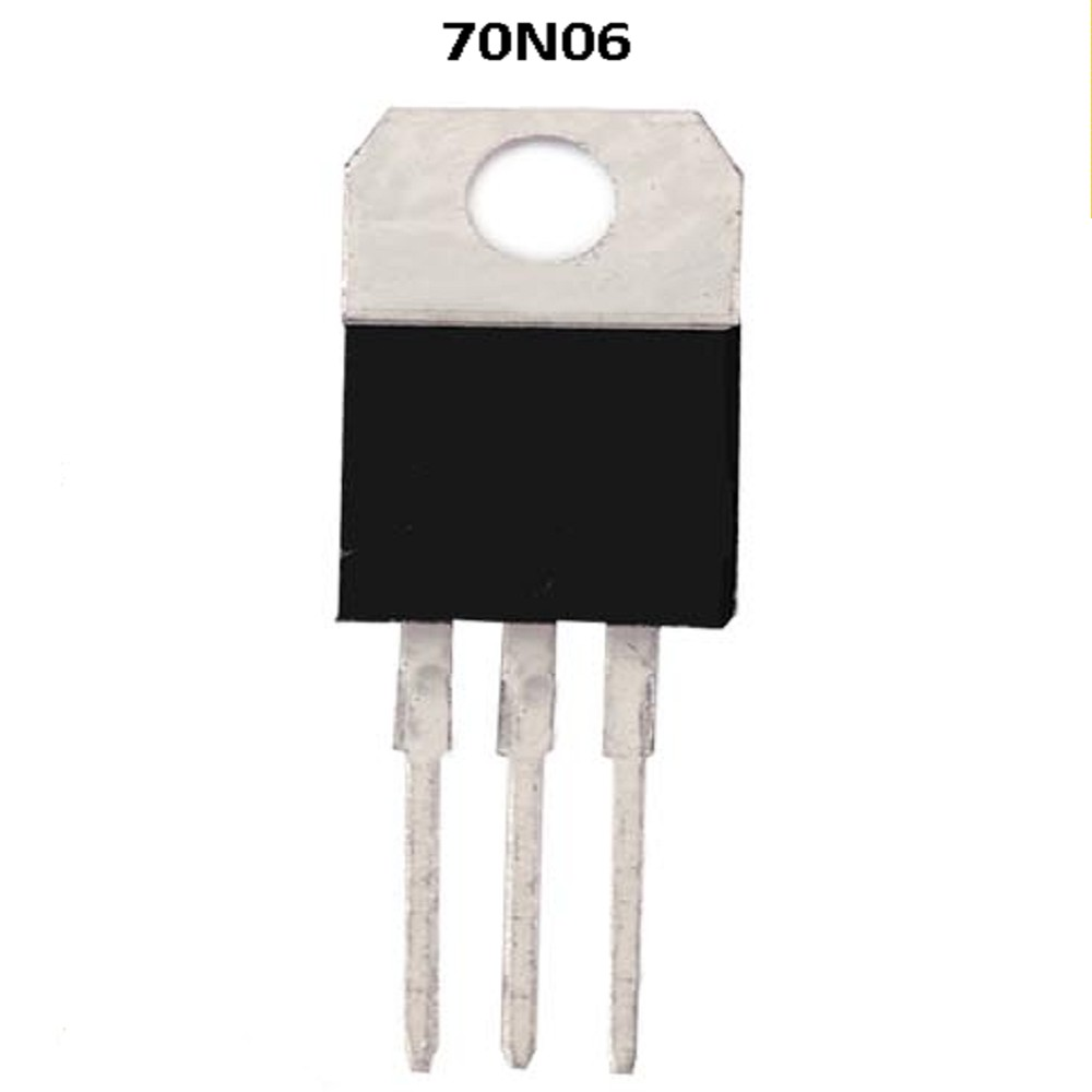 70N06 TRANSISTOR FET TO-220 CANAL N 60V / 70A