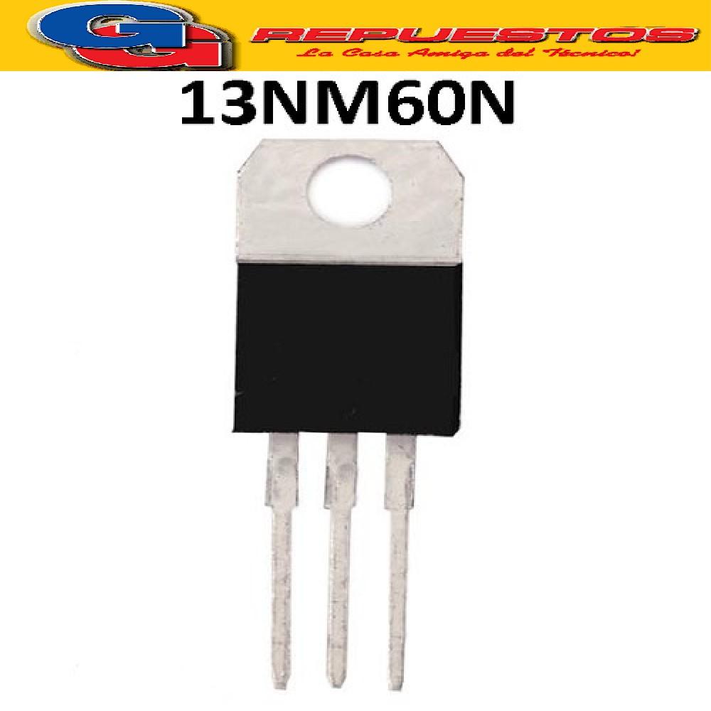 13NM60N TRANSISTOR FET (600V/0.28R/11A)