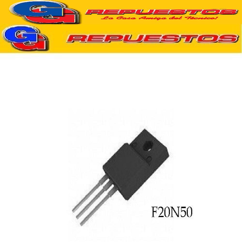 TMPF20N50 TRANSISTOR FET CANAL N (500V/18A/0.27R/48W) TO-220F