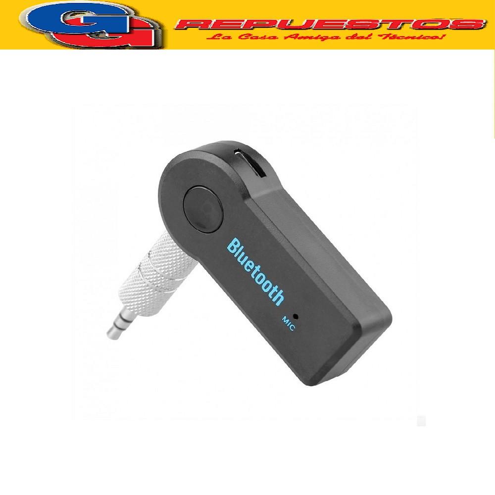 RECEPTOR BLUETOOTH V3.0 / CONEXION PLUG 3.5MM  AUTO, EQUIPO AUDIO, Y OTROS (BT-118 / BT-350)