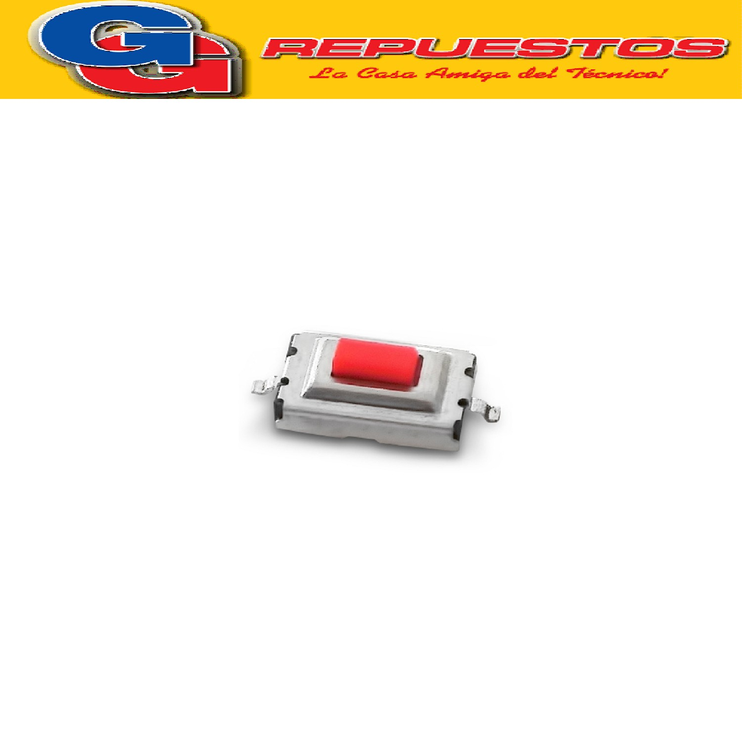 MICROSWITCH SMD 6 X 3,5 X 2,5 MM 2 CONTACTOS