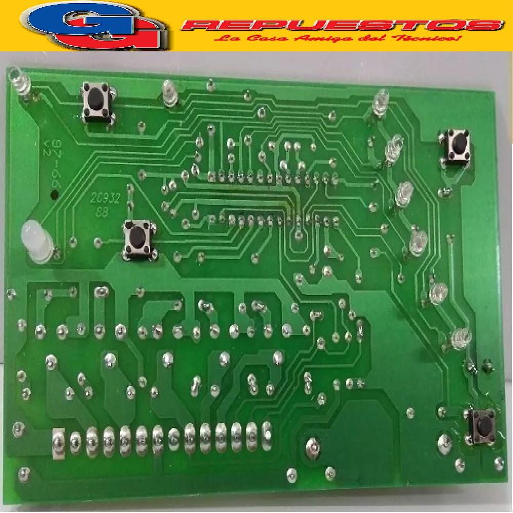 PLAQUETA LAVARROPAS DREAN CONCEPT ELECTRONIC 156 (LED CON PINES) SMDTIPO RP