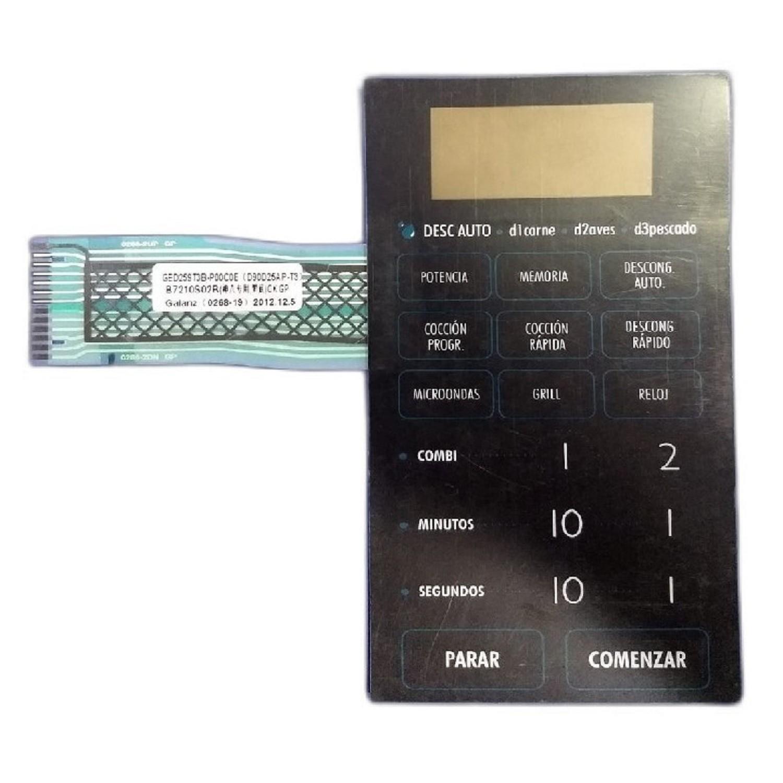 PLAQUETA LAVARROPAS GENERAL ELECTRIC 11 KG. CON ELECTROIMAN SOLENOIDE (189D3512G009)