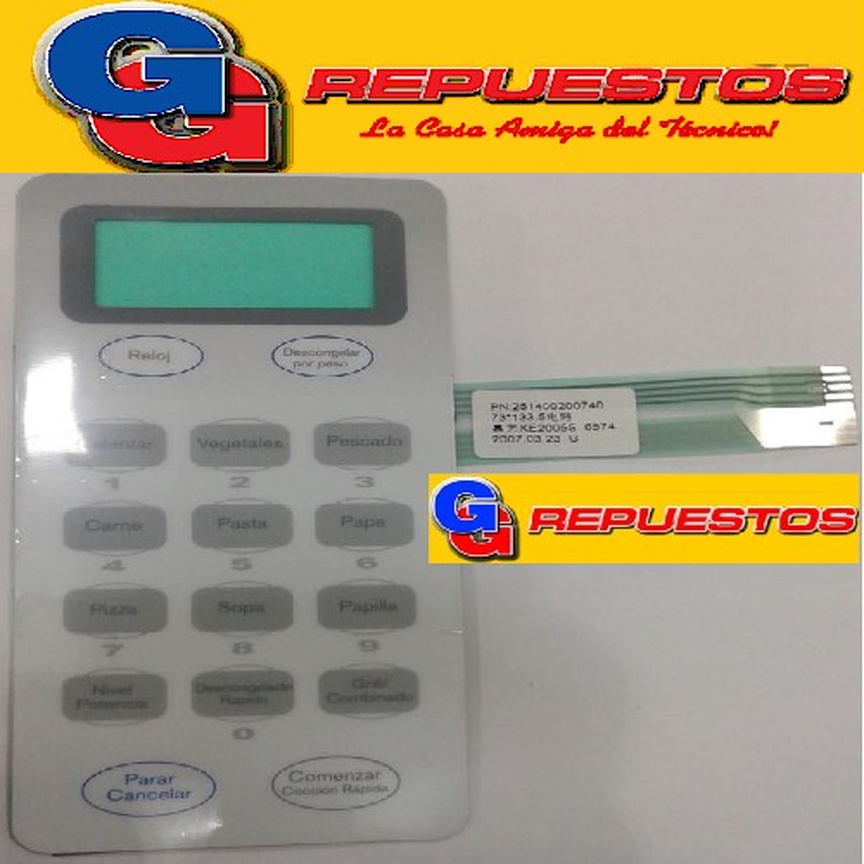 TECLADO MICROONDAS VARIOS MODELOS KE2005S