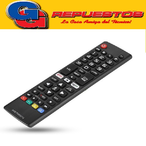 CONTROL REMOTO LED SMART TV LG AKB75095315