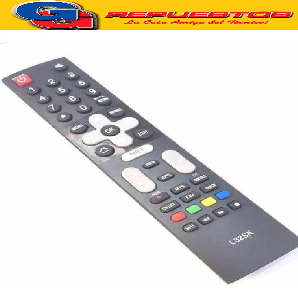CONTROL REMOTO LED SMART TV L32SK RCA / HITACHI / PHILCO / TALENT /ADMIRAL