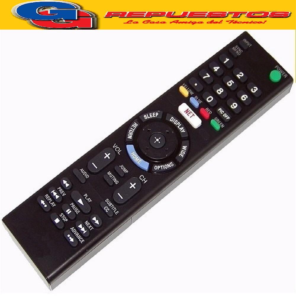 CONTROL REMOTO LED SMART 3D SIMILAR A SONY  NETFLIX TDT R6858 3858