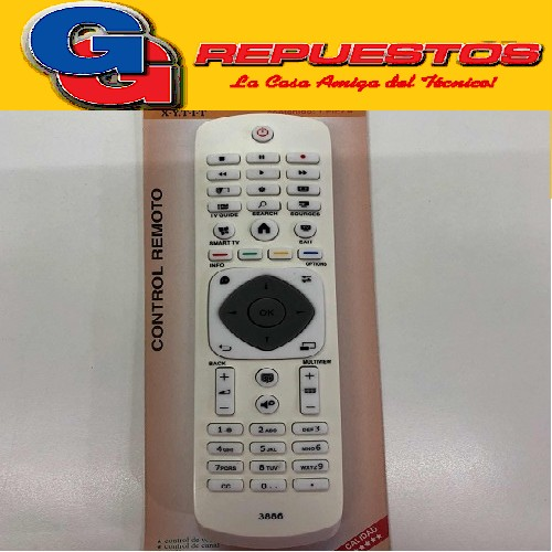 CONTROL REMOTO LED SMART PHILIPS R6886