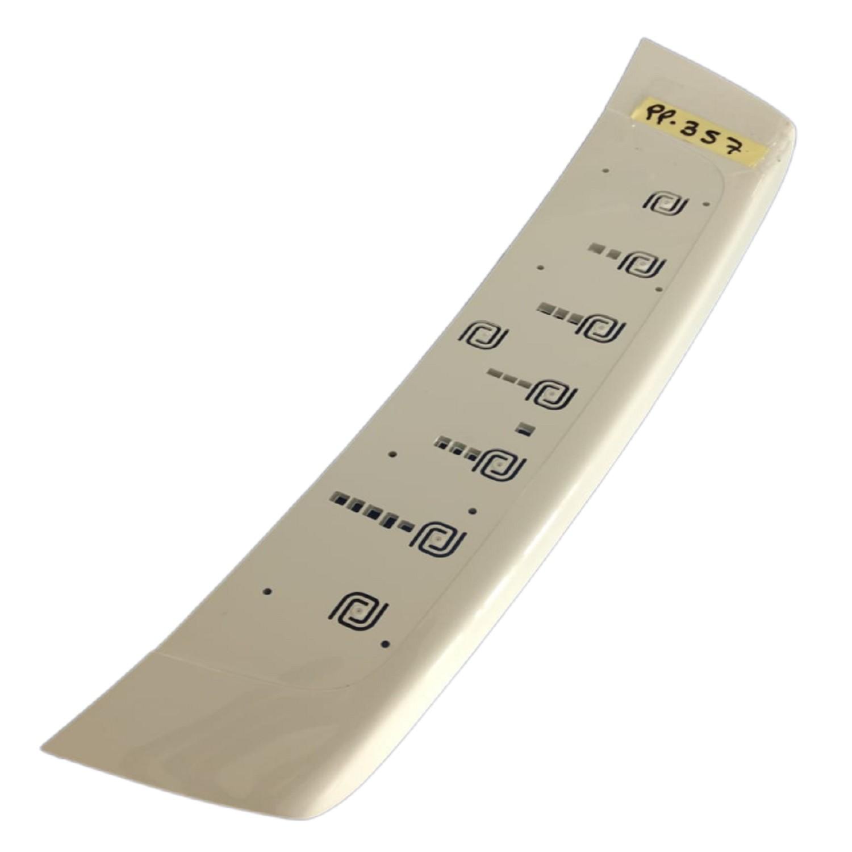 PANEL PLASTICO TECLADO LAVARROPAS ELECTROLUX DIGITAL WASH ( SIN DISPLAY)
