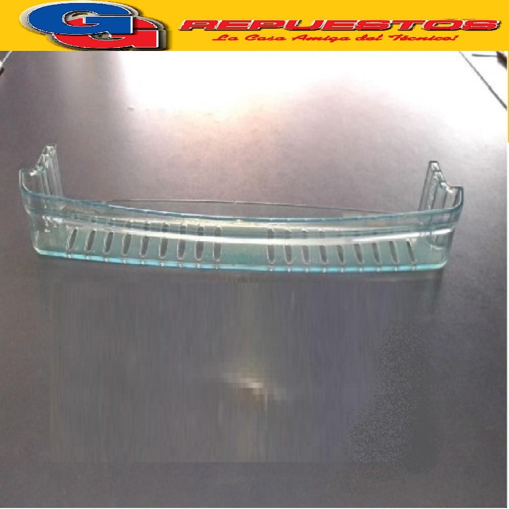 BALCON / ANAQUEL / ESTANTE CONVEXO 660 HELADERA COLUMBIA KOHINOOR 4.5CM X 49.2CM