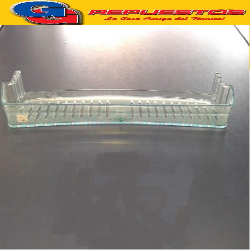 BALCON / ANAQUEL / ESTANTE CONCAVO 660 HELADERA COLUMBIA KOHINOOR 4.5CM X 49.2CM