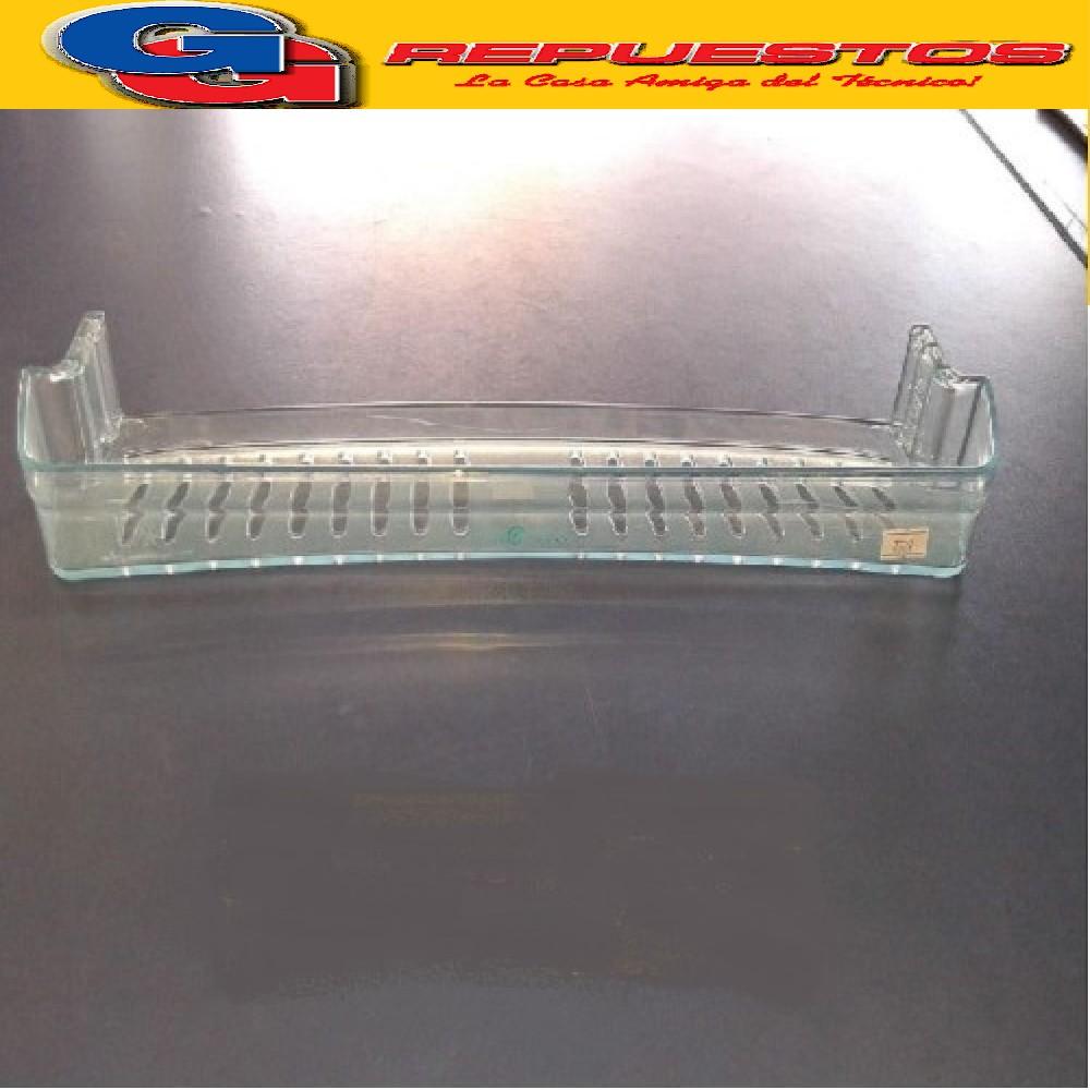 BALCON / ANAQUEL / ESTANTE CONCAVO 600 HELADERA COLUMBIA KOHINOOR 4.5CM X 43.5CM