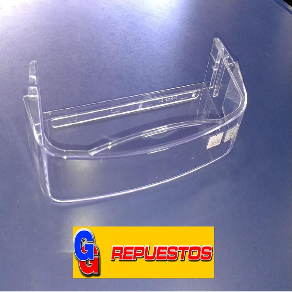 ANAQUEL CHICO 660 CRISTAL HELADERA PATRICK 26.4CM X 5CM