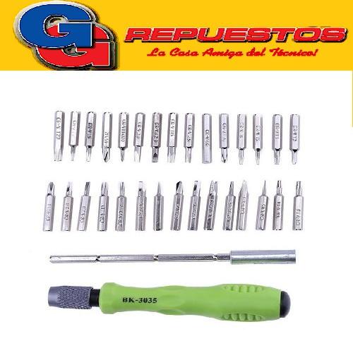 KIT DESTORNILLADORES / HERRAMIENTAS 30 EN 1 (PARA ELECTRONICA / CELULARES / Y USOS VARIOS) 7389C