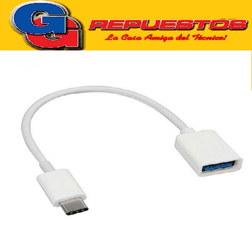 CABLE OTG MICRO USB TIPO-C A USB HEMBRA