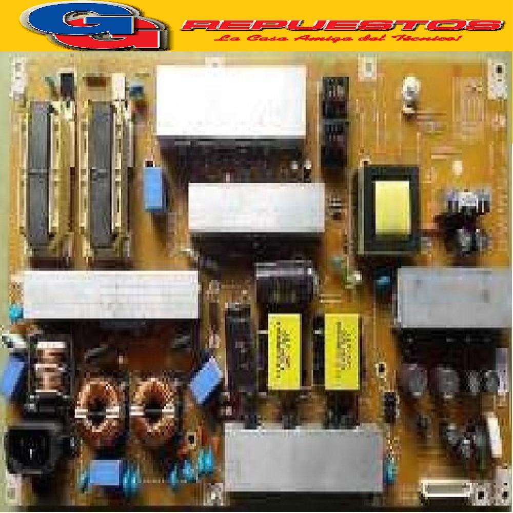 PLAQUETA FUENTE LG MODELO:LG47LD655 (USADA) 47LD655.L104.191 REV0.2 2010.1.27 PCB:EAX61289603/1