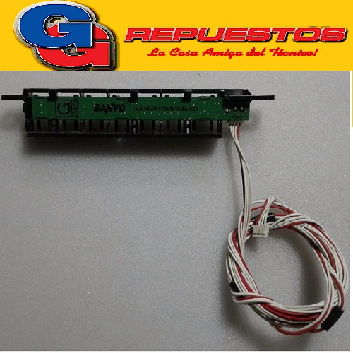 Jvc Lt-42dr51 - Botonera Cables Tscde A30C5 SANYO 1LGB10Y0730B.UE8L.KEY(USADO)