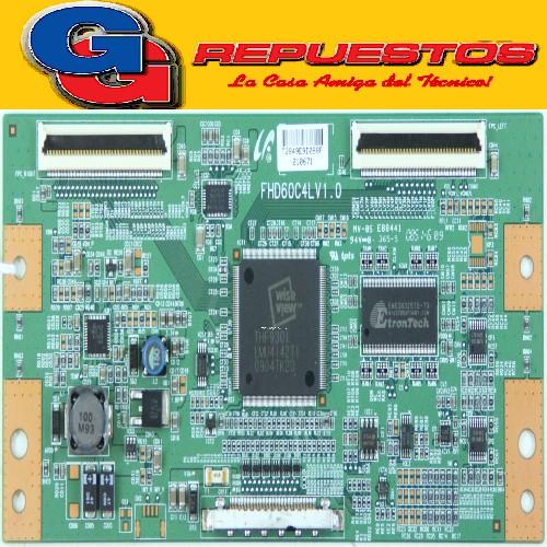 PLAQUETA Samsung LE40B551A6W - T-Con - FHD60C4LV1.0 - LJ94-02849E