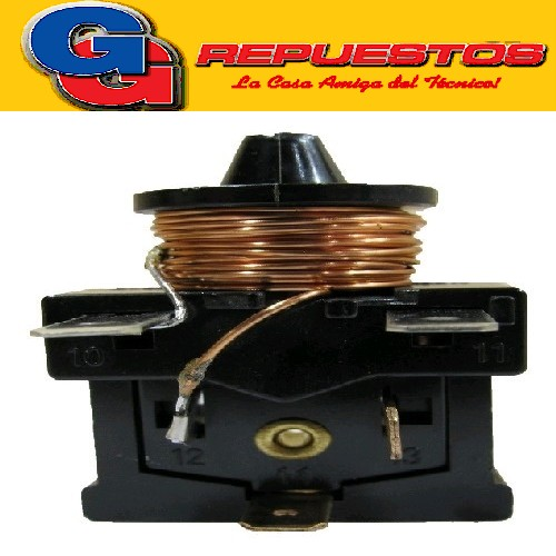 RELAY SIN PROTECTOR 1/6 T/DANFOSS EMBRACO