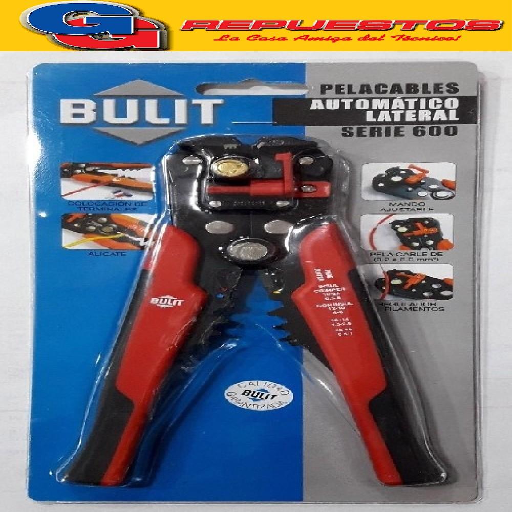 PELACABLES AUTOMATICO LATERAL SERIE 600 / BULIT
