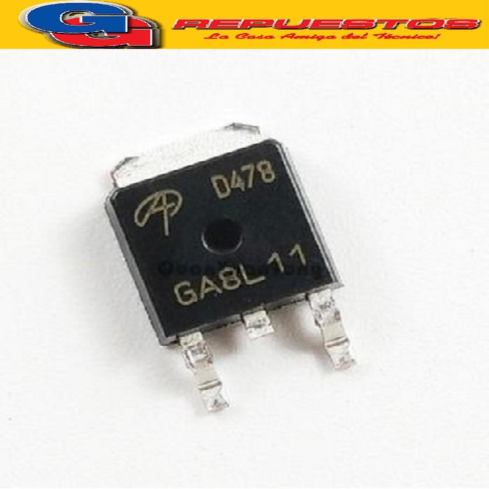 AOD478 CIRCUITO INTEGRADO MOSFET CANAL N -SMD- (100V/8A/45W)