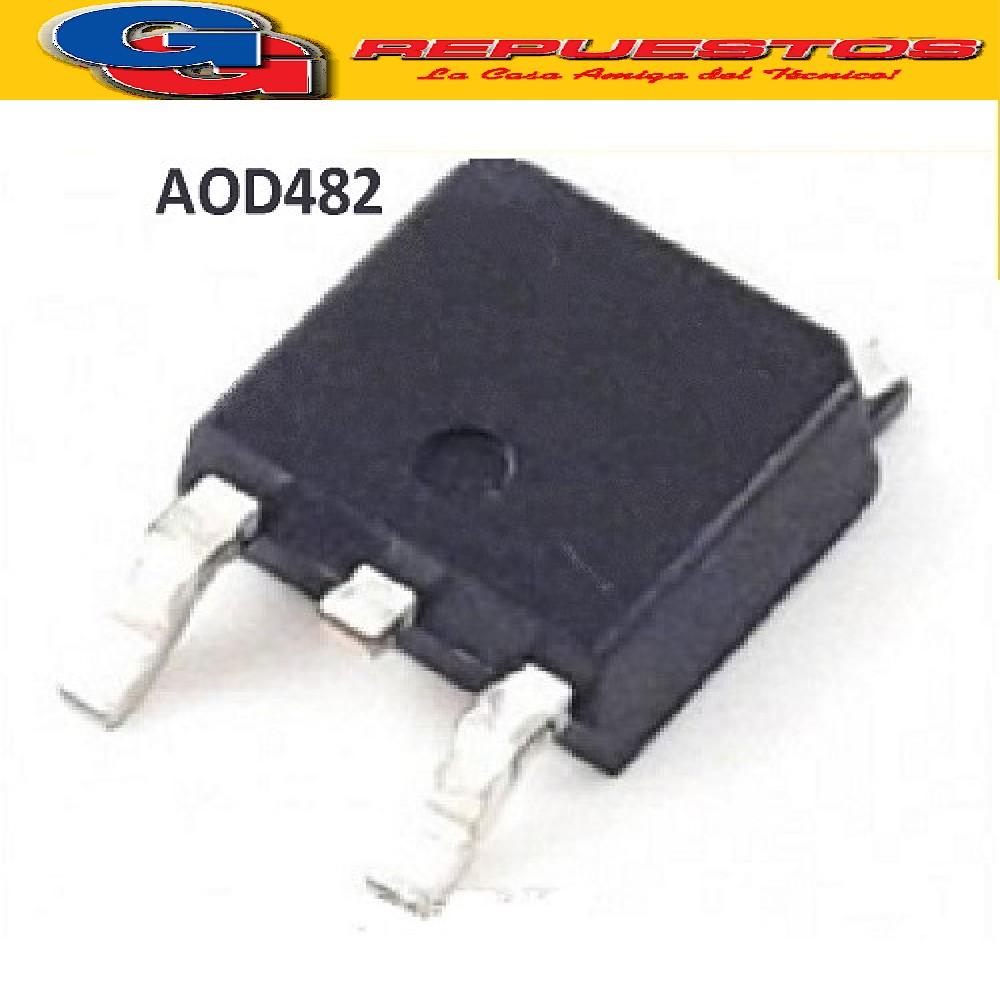 AOD482 CIRCUITO INTEGRADO MOSFET CANAL N -SMD- (100V/100W/32A/0.032ohms) TO252