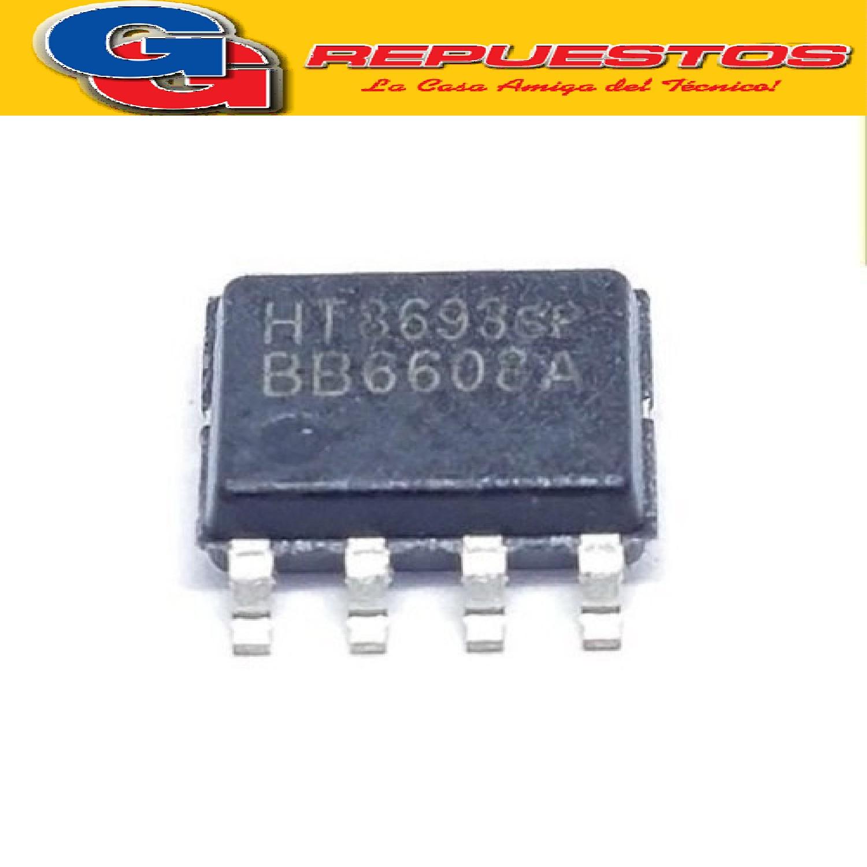 HT8693SP CIRCUITO INTEGRADO - SMD- AMPLIFICADOR DE AUDIO ESTEREO (9V/4ohms/11W)