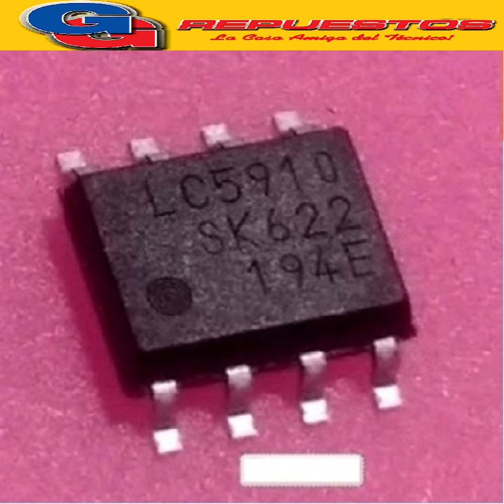 LC5910 CIRCUITO INTEGRADO -SMD- (12V/100UA) SOP8