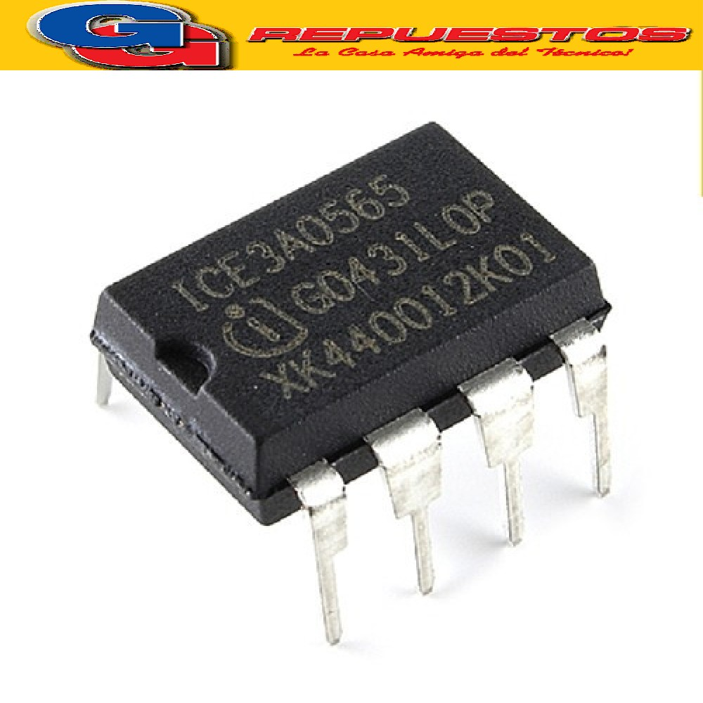 ICE3A0565 CIRCUITO INTEGRADO -DIP8- (650V/100KHZ/4.7ohms/25W)