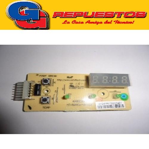 PLAQUETA INTERFASE PUERTA HELADERA ELECTROLUX DC4 Cod.Origen:5211069 (ELECTROLUX) 64800243_PLACA DE PUERTA DC49X