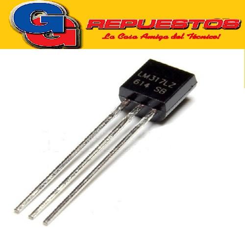 LM317LZ CIRCUITO INTEGRADO (2mV/500mW/300pF)