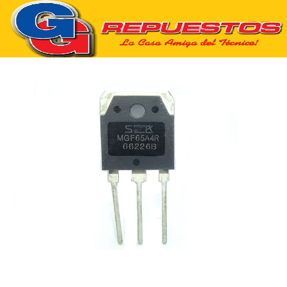 MGF65A4R TRANSISTOR IGBT (650V/40A/10µs) TO3P-3L