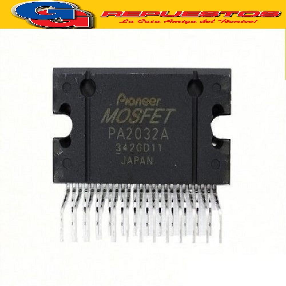 PA2032A CIRCUITO INTEGRADO AMPLIFICADOR DE AUDIO PIONEER SIP25 (12V-18V) IGAUL A PAL011-PAL012-PAL013