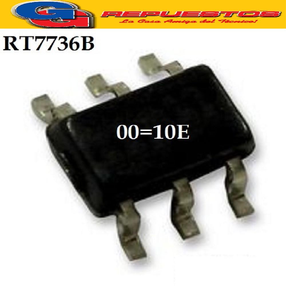 RT7736B CIRCUITO INTEGRADO -SMD- /CODE:00=10E/ (9V-15V/300MA/65KHZ/100mW)