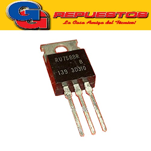 RU7588R TRANSISTOR MOSFET CANAL N (75V/80A/75W)