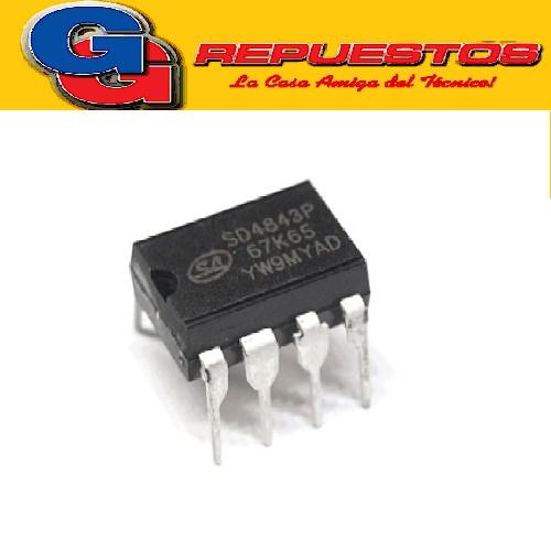 SD4843P CIRCUITO INTEGRADO -DIP8- (650V/19W/11A/65KHZ)