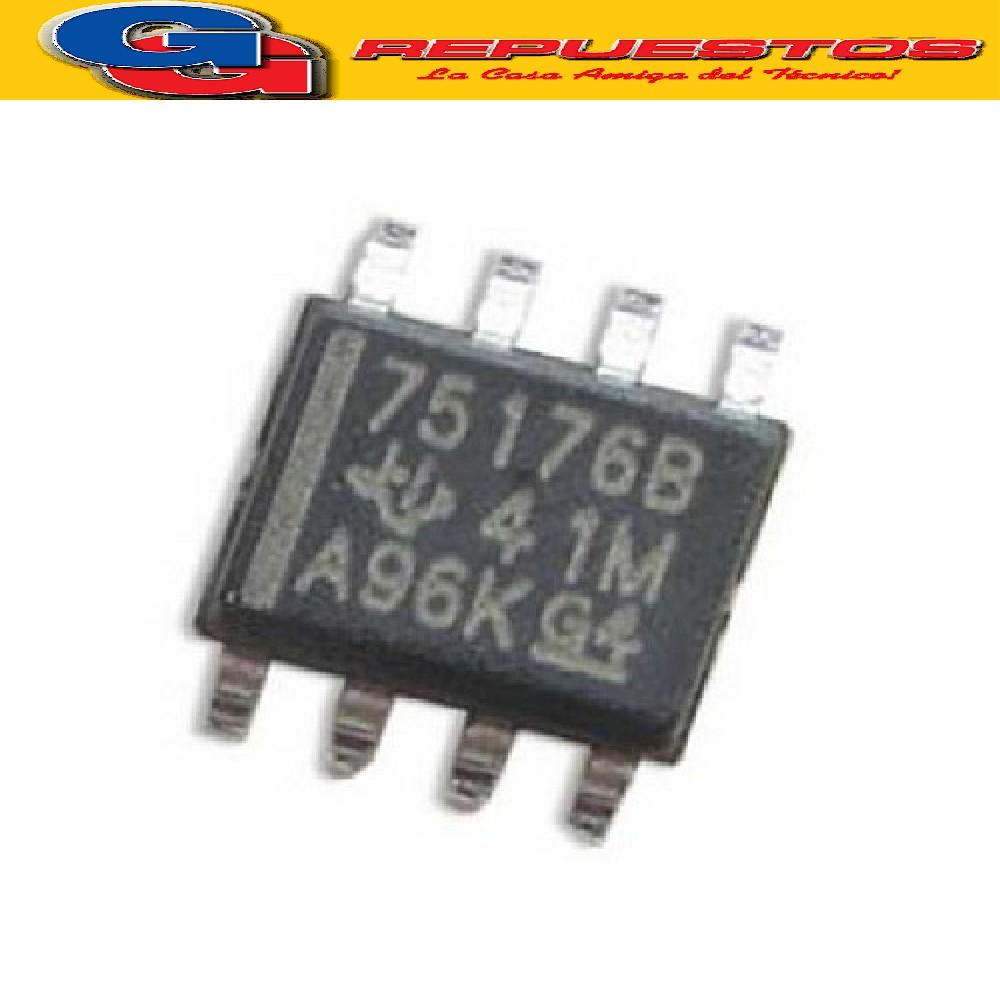 SN75176 CIRCUITO INTEGRADO -SMD- (7V/60mA/12Kohms)