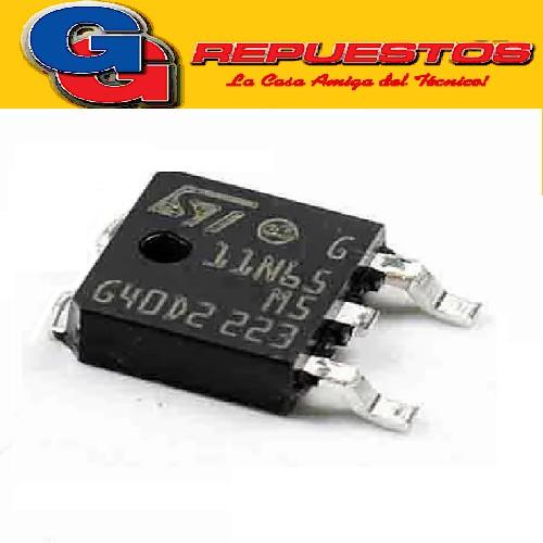 STD11N65M5 TRANSISTOR MOSFET CANAL N -SMD- (650V/85W/9A/0.48ohms) DPAK