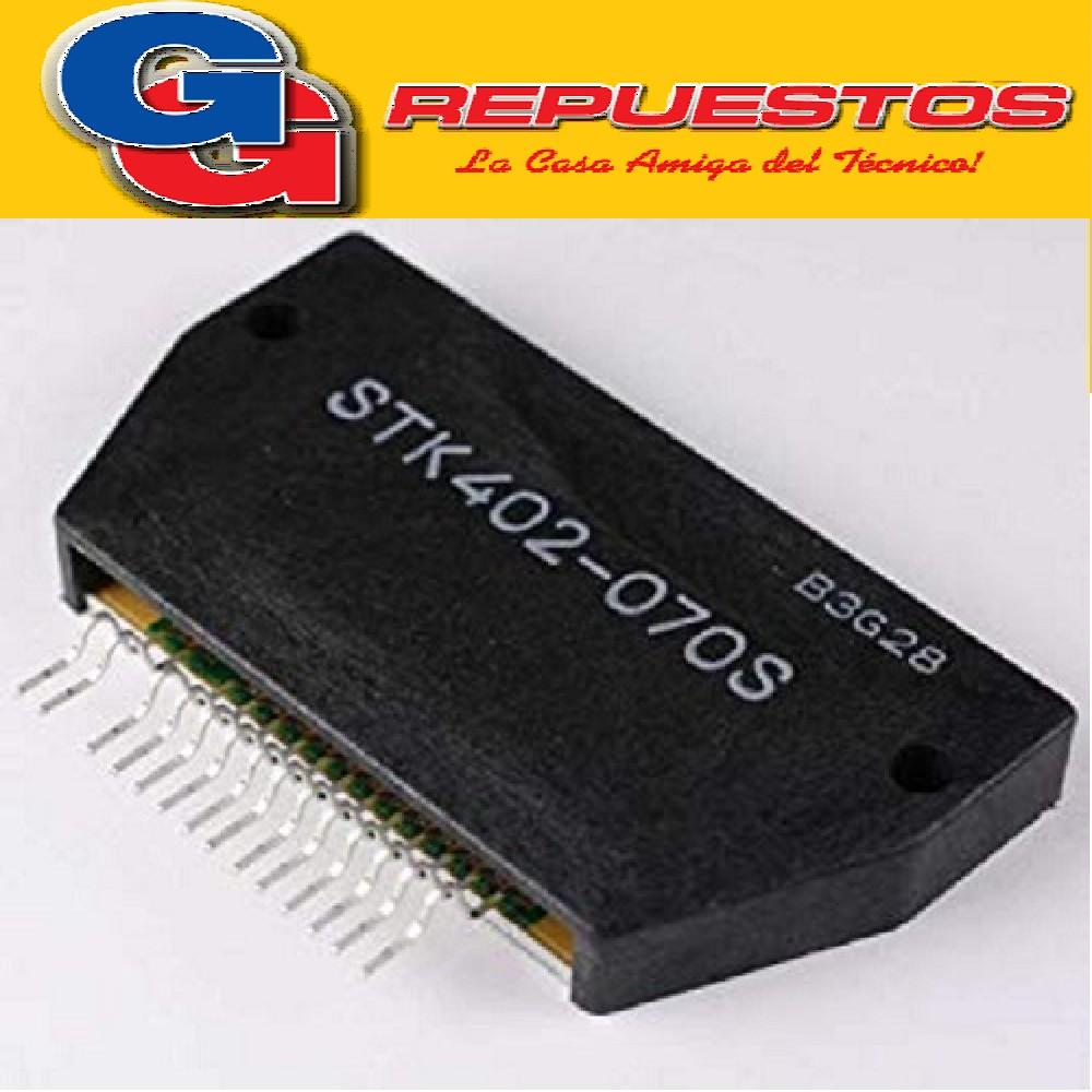 STK402-070S TRANSISTOR AMPLIFICADOR DE AUDIO (2X40W/6 ohms)