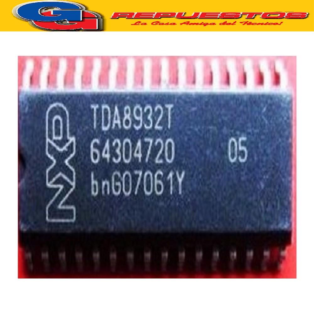 TDA8932T CIRCUITO INTEGRADO -SMD- AMPLIFICADOR DE AUDIO  (2 X 15W - 4 ? / 1 X 30W - 8 ?) SO32