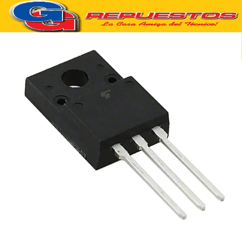 TK15A60D TRANSISTOR MOSFET CANAL N (600V/15A/40W/0.24 ohms)